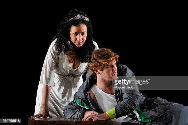 Rosa Bove as Aristea and Tim Mead as Licida in Garsington Opera's production of Antonio Vivaldi's L'Olimpiade directed by David Freeman and conducted...