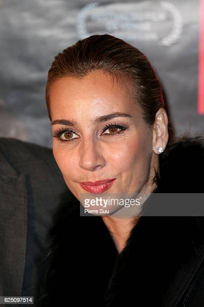 Rosa Caracciolo attends the Premiere of 'Rocco' at UGC Cine Cite des Halles on November 22 2016 in Paris France