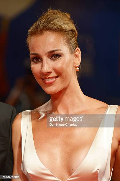 Rosa Caracciolo attends the premiere of 'Rocco' during the 73rd Venice Film Festival at Sala Perla on September 5 2016 in Venice Italy