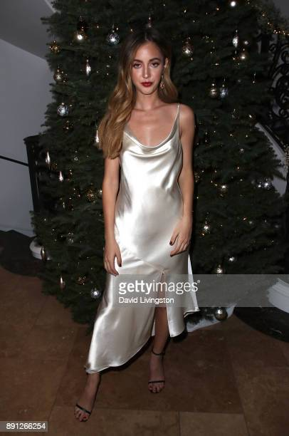 Rosa Crespo attends FORAY Collective and The Black Tux Host Holiday Gala on December 12 2017 in Los Angeles California