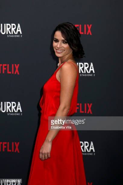 Rosa Diletta Rossi attends the after party for Netflix Suburra The Series season 2 launch at Circolo Degli Illuminati on February 20 2019 in Rome...