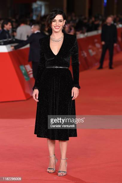 """Rosa Diletta Rossi attends the """"Il Ladro Di Giorni"""" red carpet during the 14th Rome Film Festival on October 20, 2019 in Rome, Italy."""