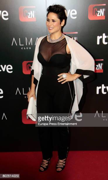 Rosa Lopez attends 'Corazon' TV Programme 20th Anniversary at Alma club on June 27 2017 in Madrid Spain