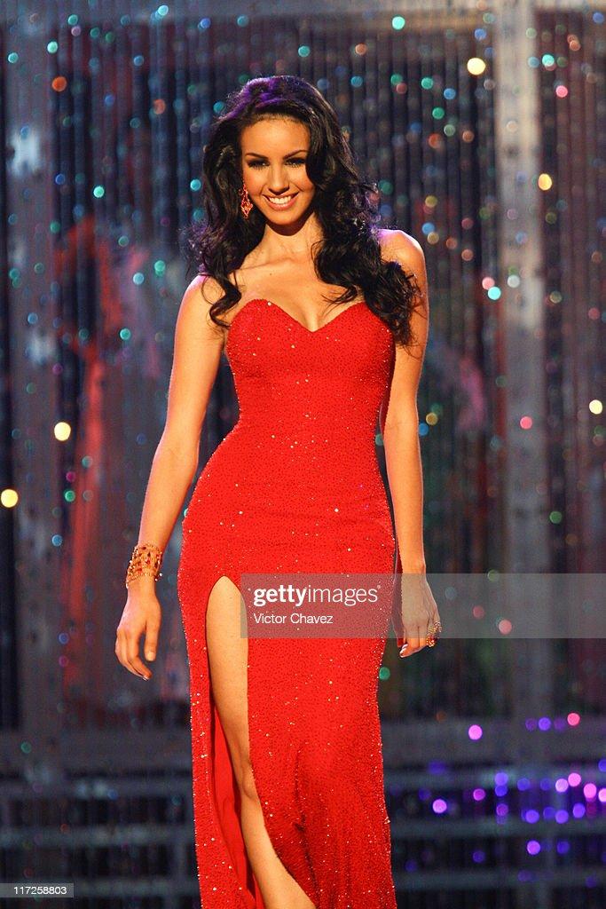 Rosa Maria Ojeda, Miss Universe Mexico 2007 during Miss Universe 2007 - Show at Auditorio Nacional in Mexico City, Mexico City, Mexico.