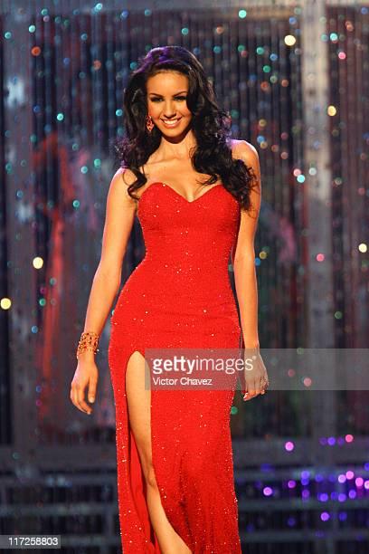 Rosa Maria Ojeda Miss Universe Mexico 2007 during Miss Universe 2007 Show at Auditorio Nacional in Mexico City Mexico City Mexico