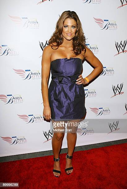 Rosa Mendes arrives to WWE's Summer Slam Kickoff Party held at hwood on August 21 2009 in Hollywood California