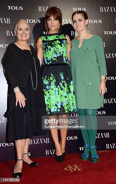 Rosa Oriol, Ana Rodriguez and Rosa Tous attend Tous collection presentation at Casino Madrid on May 10, 2012 in Madrid, Spain.