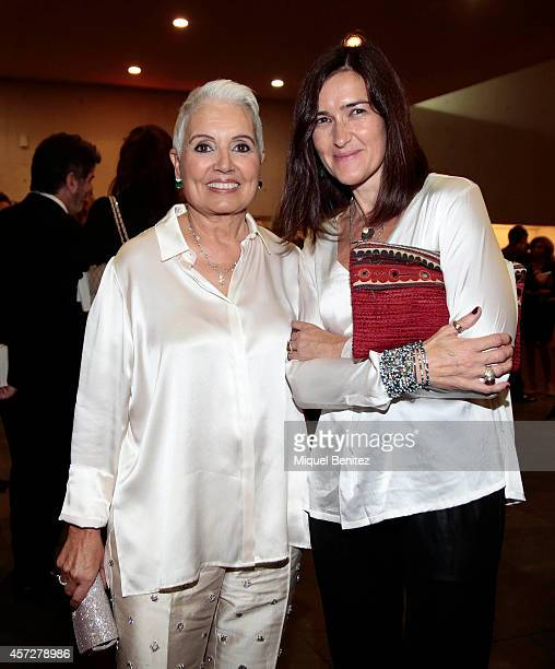 Rosa Oriol and Angeles GonzalezSinde attend the '63th Premio Planeta' Literature Awards at the Palau de Congressos de Catalunya on October 15 2014 in...