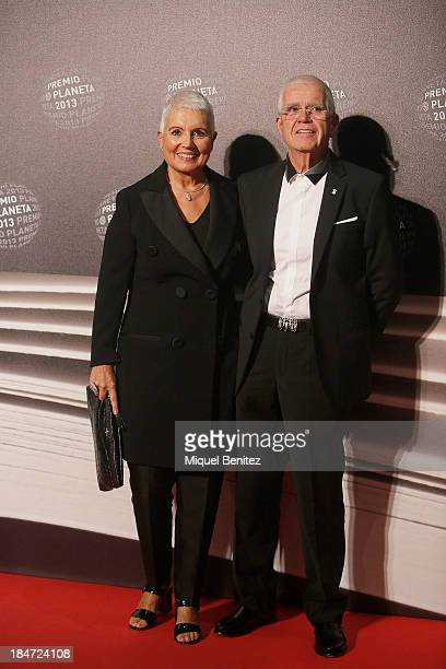 Rosa Oriol and Salvador Tous attend the '62nd Premio Planeta' Literature Awards, the most valuable literature award in Spain with 601,000 euros for...
