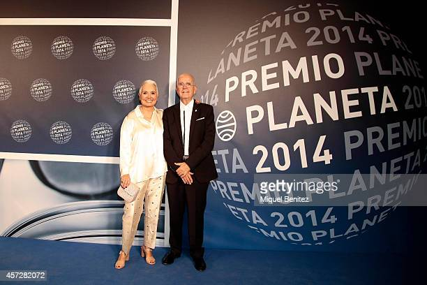 Rosa Oriol and Salvador Tous attend the '63th Premio Planeta' Literature Awards at the Palau de Congressos de Catalunya on October 15, 2014 in...