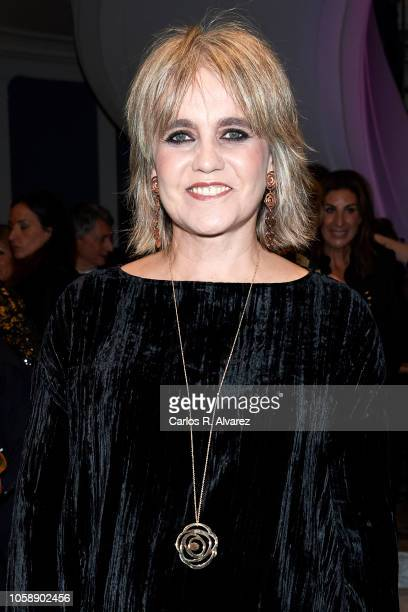 Rosa Oriol attends a charity dinner by Querer Foundation at the Villamagna Hotel on November 7, 2018 in Madrid, Spain.