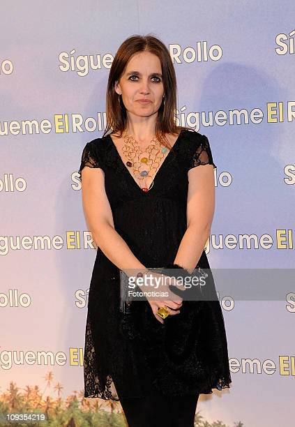 Rosa Oriol Tous attends the premiere party of 'Sigueme el Rollo' at the Room Mate Oscar Hotel on February 22, 2011 in Madrid, Spain.