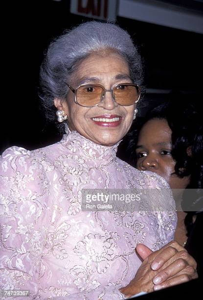 Rosa Parks at the Madison Square Garden in New York City, New York
