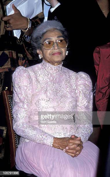 Rosa Parks during Essence Awards at Madison Square Garden in New York City New York United States