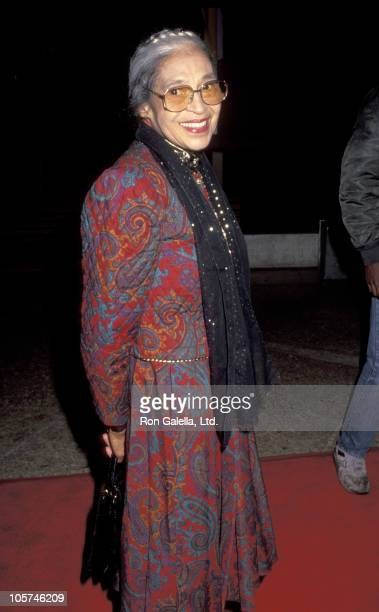 """Rosa Parks during """"The Long Walk Home"""" Los Angeles Premiere at The Plitt Theater in Century City, California, United States."""