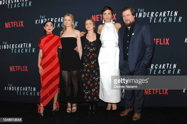 Rosa Salazar Anna Baryshnikov Sara Colangelo Maggie Gyllenhaal and Michael Chernus attend the NY Special Screening of Netflix's 'The Kindergarten...