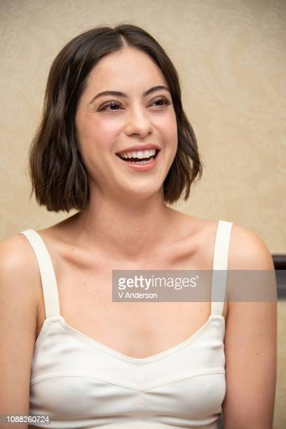 Rosa Salazar at the Alita Battle Angel Press Conference at the Omni Hotel on March 10 2018 in Austin Texas