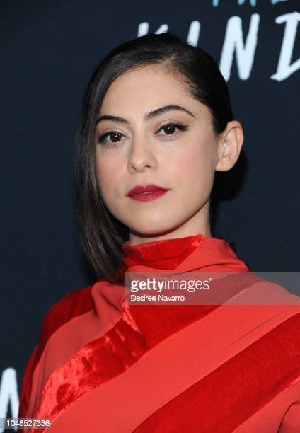 Rosa Salazar attends the NY Special Screening of Netflix's 'The Kindergarten Teacher' at Crosby Street Hotel on October 9 2018 in New York City
