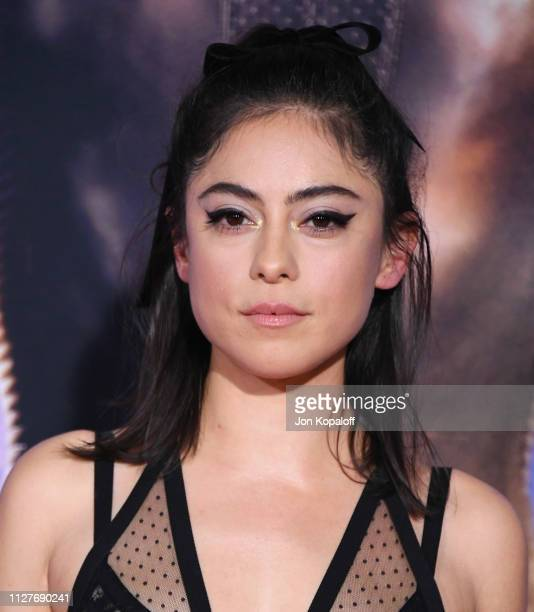 Rosa Salazar attends the premiere of 20th Century Fox's Alita Battle Angel at Westwood Regency Theater on February 05 2019 in Los Angeles California