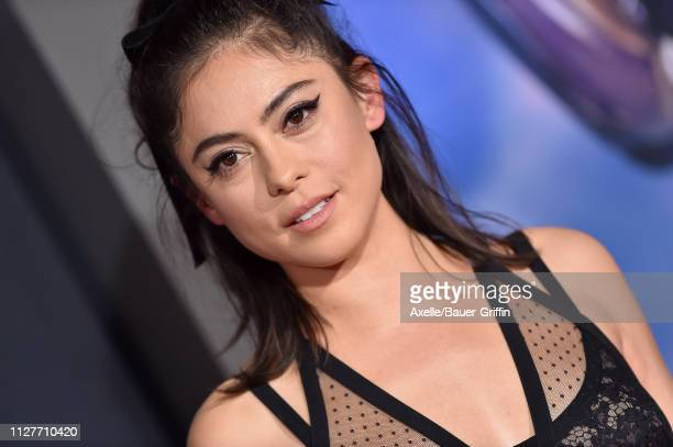 Rosa Salazar attends the premiere of 20th Century Fox's 'Alita Battle Angel' at Westwood Regency Theater on February 05 2019 in Los Angeles California