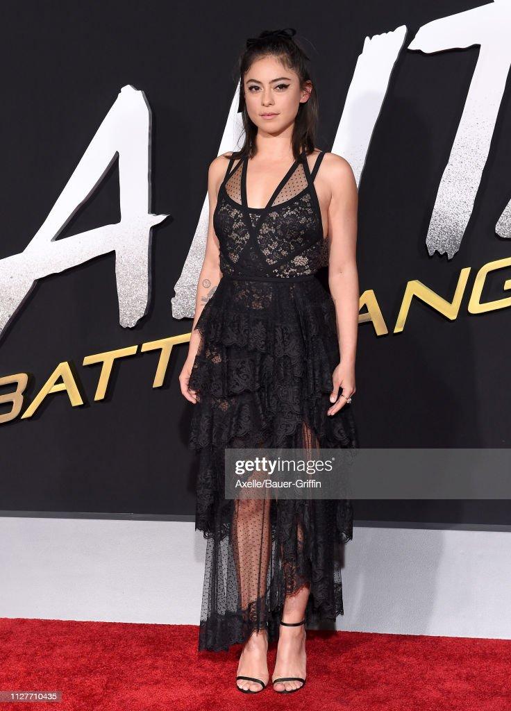 "Premiere Of 20th Century Fox's ""Alita: Battle Angel"" - Arrivals : News Photo"