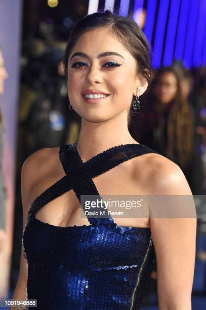Rosa Salazar attends the World Premiere of Alita Battle Angel at Odeon Leicester Square on January 31 2019 in London England