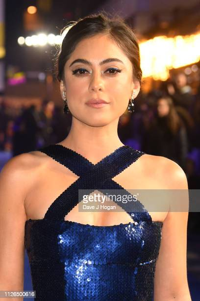 Rosa Salazar attends the World Premiere of Alita Battle Angel held at Odeon Leicester Square on January 31 2019 in London England