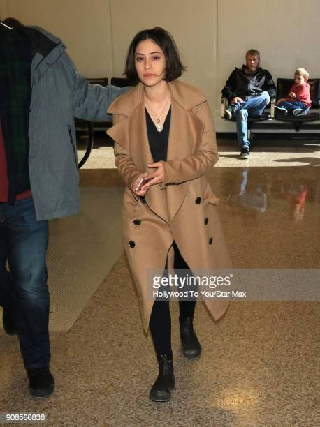 Rosa Salazar is seen on January 21 2018 in Salt Lake City Utah