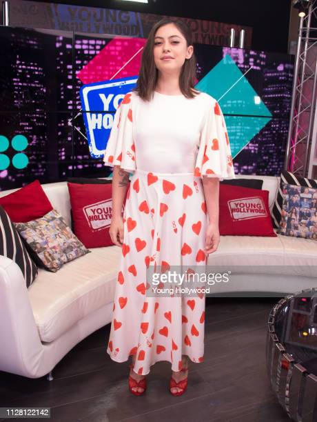 Rosa Salazar visits the Young Hollywood Studio on February 7 2019 in Los Angeles California
