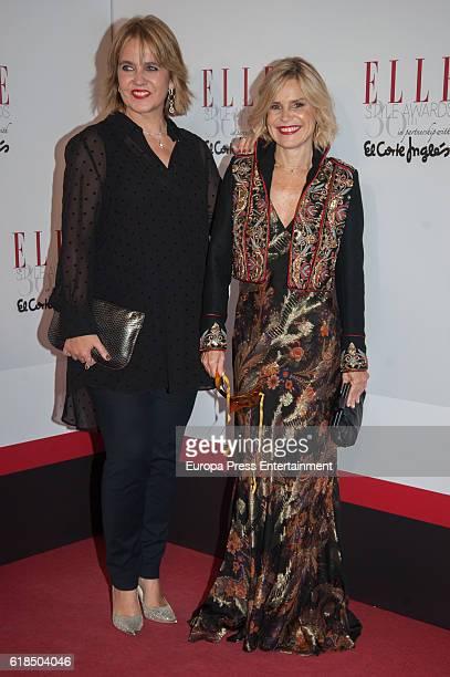 Rosa Tous and Eugenia Marinez de Irujo attend 'Elle Magazine' Awards 30th Anniversary at Circulo de Bellas Artes on October 26, 2016 in Madrid, Spain.