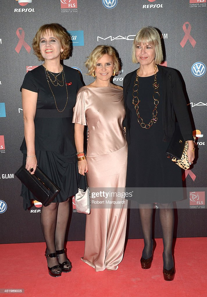 Celebrities Attend 'Gala Against Aids' In Barcelona