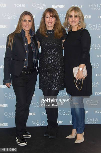 Rosa Tous attends 'Gala for Tous' collection party photocall at Pons Foundation on January 21, 2015 in Madrid, Spain.