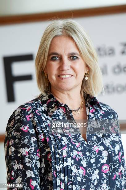 Rosa Tous attends 'Oso' photocall during the 68th San Sebastian International Film Festival at the Kursaal Palace on September 25, 2020 in San...
