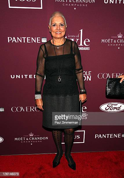 """Rosa Tous attends the 2011 Vanidades """"Icons Of Style Awards"""" Gala at the Mandarin Oriental Hotel on September 22, 2011 in New York City."""