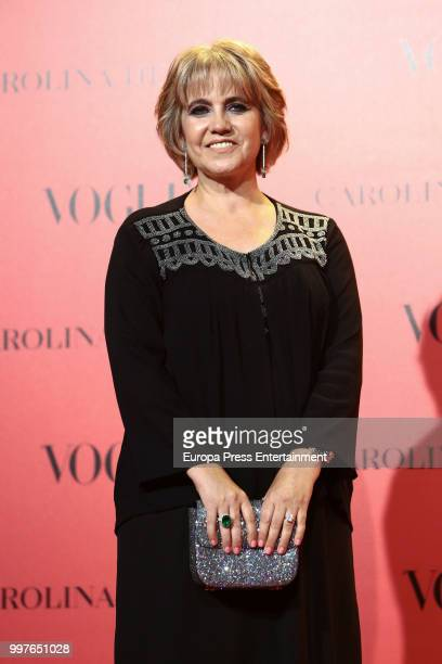 Rosa Tous attends Vogue 30th Anniversary Party at Casa Velazquez on July 12, 2018 in Madrid, Spain.