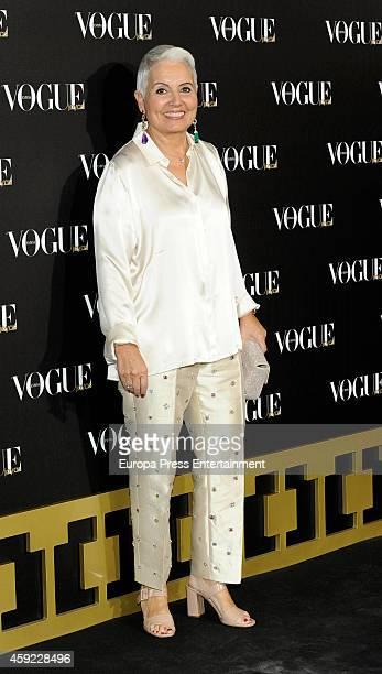 Rosa Tous attends Vogue Joyas 2014 Awards on November 18, 2014 in Madrid, Spain.