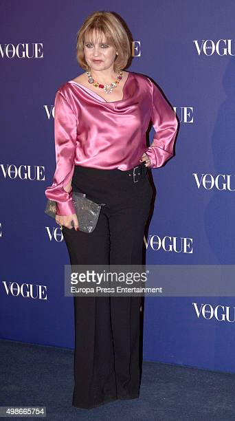 Rosa Tous Oriol attends Vogue Joyas 2015 Awards at Ritz Hotel on November 24, 2015 in Madrid, Spain.