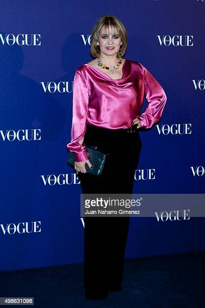 Rosa Tous Oriol attends 'Vogue Joyas' awards 2015 at Ritz Hotel on November 24, 2015 in Madrid, Spain.