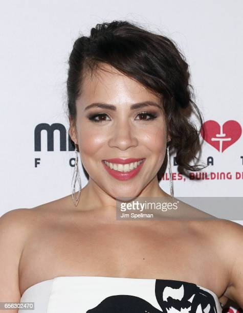 Rosal Colon attends the Maestro Cares Foundation's Fourth Annual Changing Lives/Building Dreams Gala at Cipriani Wall Street on March 21 2017 in New...