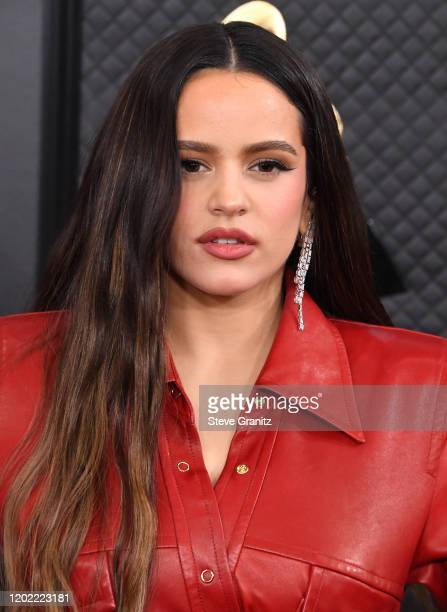 Rosalía arrives at the 62nd Annual GRAMMY Awards at Staples Center on January 26 2020 in Los Angeles California