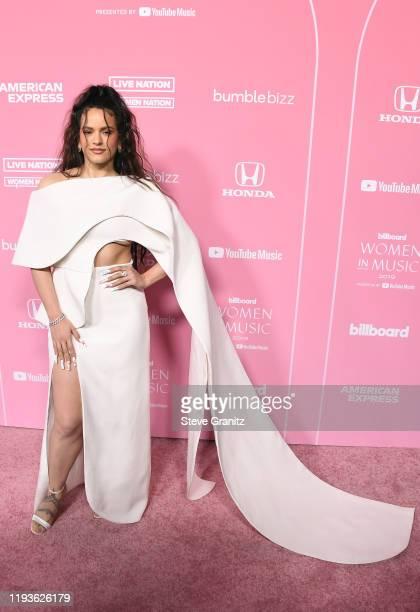Rosalía attends the 2019 Billboard Women In Music at Hollywood Palladium on December 12, 2019 in Los Angeles, California.
