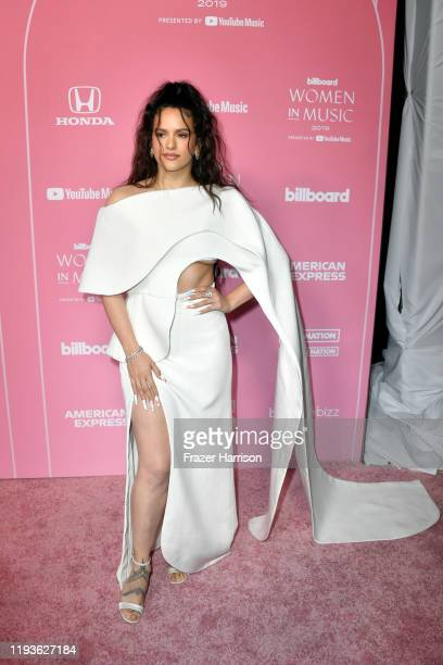 Rosalía attends the 2019 Billboard Women In Music at Hollywood Palladium on December 12 2019 in Los Angeles California