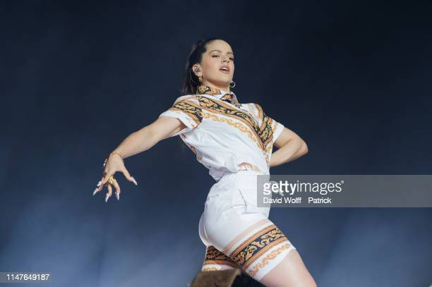 Rosalía performs at We Love Green Festival on June 1 2019 in Paris France