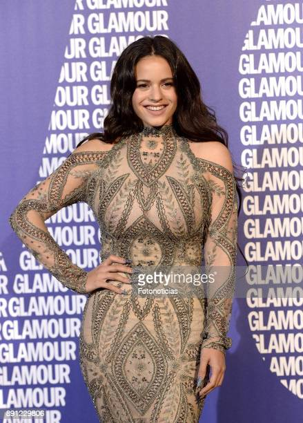 Rosalia attends the Glamour Magazine Awards and 15th anniversary dinner at The Ritz Hotel on December 12 2017 in Madrid Spain