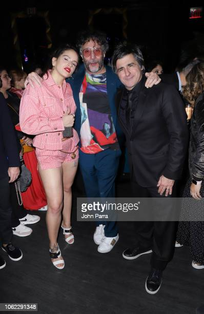 Rosalia Fito Paez and Afo Verde are seen at Sony Music Latin Hosts Their Official Latin Grammy's After Party on November 15 2018 in Las Vegas Nevada