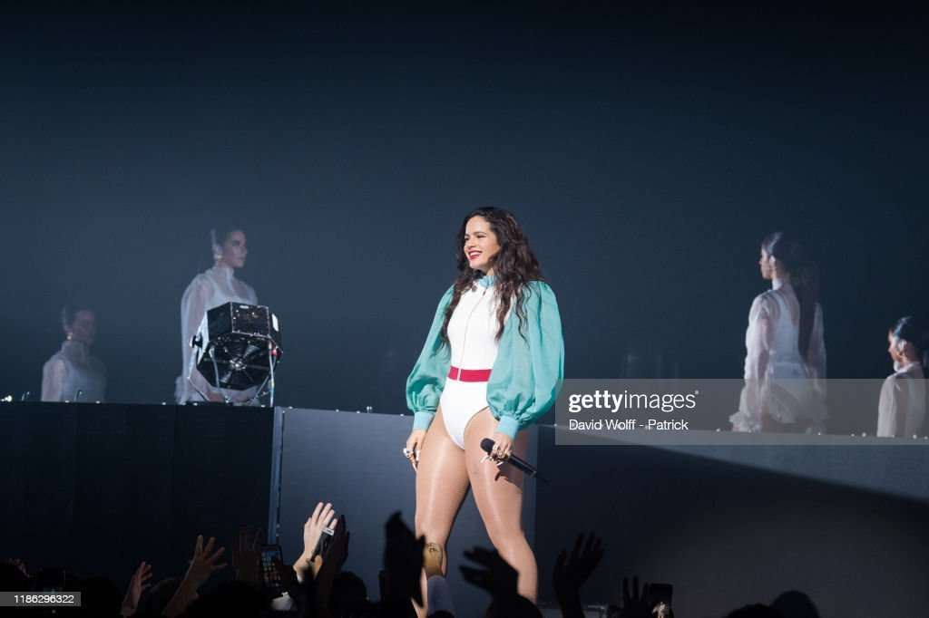 Rosalia Performs At Salle Pleyel : News Photo