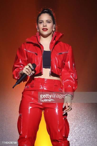 Rosalia performs at Webster Hall on April 30 2019 in New York City