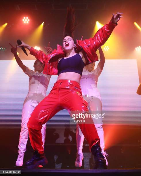 Rosalia performs at Webster Hall on April 30, 2019 in New York City.