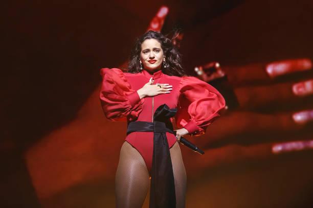 ESP: Rosalia Concert In Barcelona