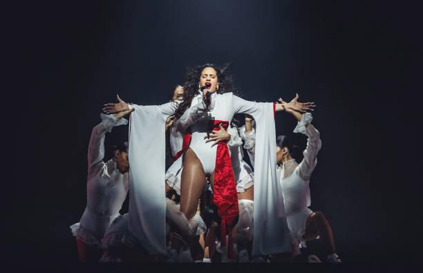 ESP: Rosalia Concert In Madrid